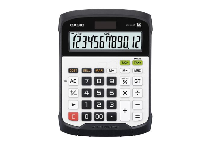 Casio Water Protected Calculator WD-320MT
