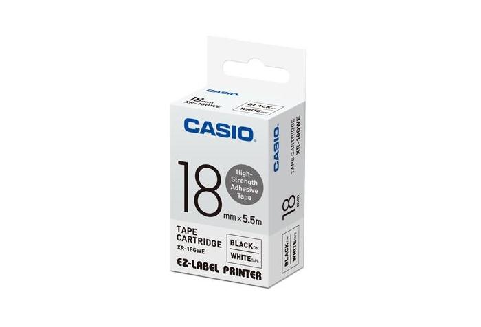 Casio Label Tape XR-18GWE